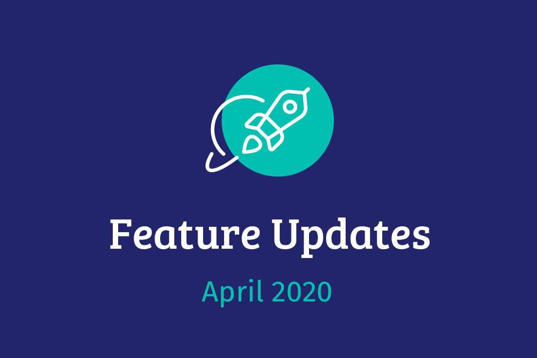 Vorschau Feature Updates April 2020