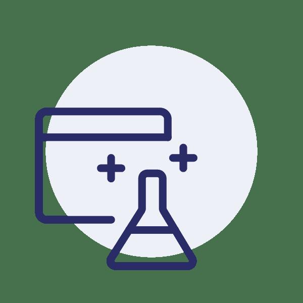 Das Kontakt-Icon für die Testversion