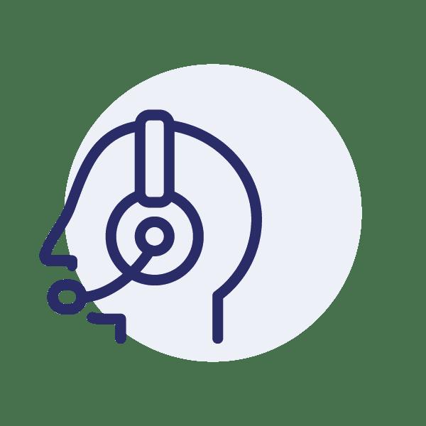 Das Kontakt-Icon für die Web-Demo