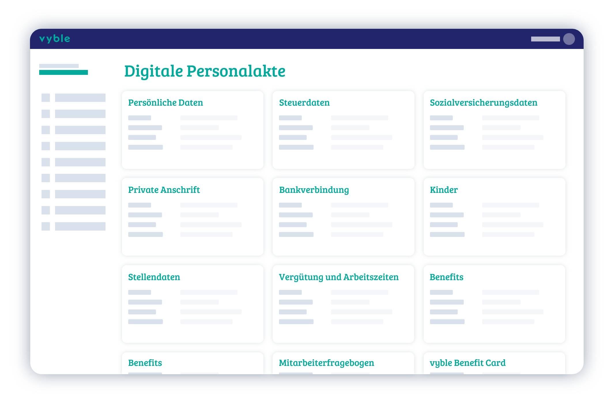 Das persönliche Profil eines Mitarbeiters - Die digitale Personalakte