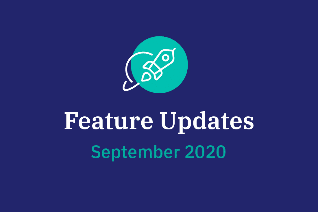 Vorschaubild Feature Updates im September 2020