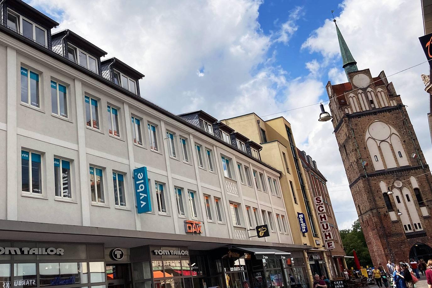 Standort von vyble® in Rostock