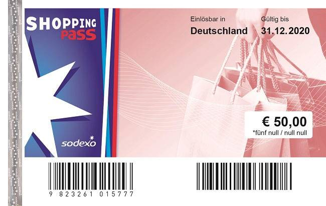 Sodexo Shopping Pass 2020