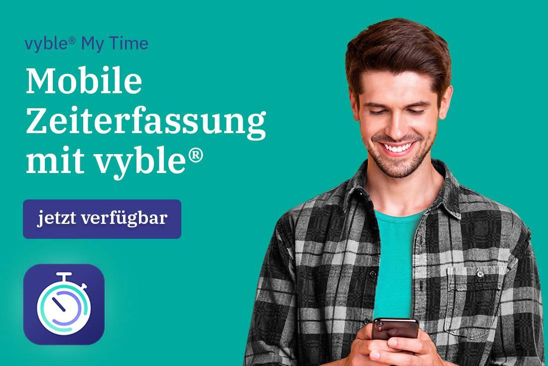 vyble® My Time: jetzt verfügbar (Vorschau)