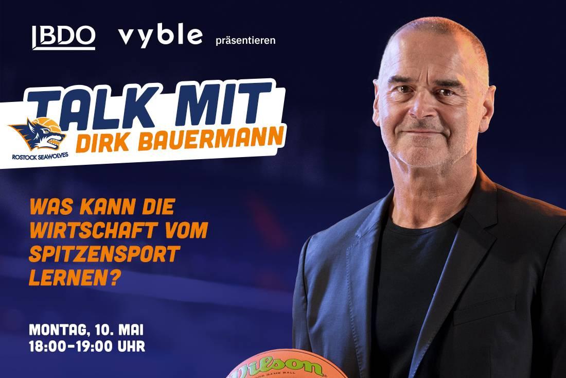 Talk mit Dirk Bauermann