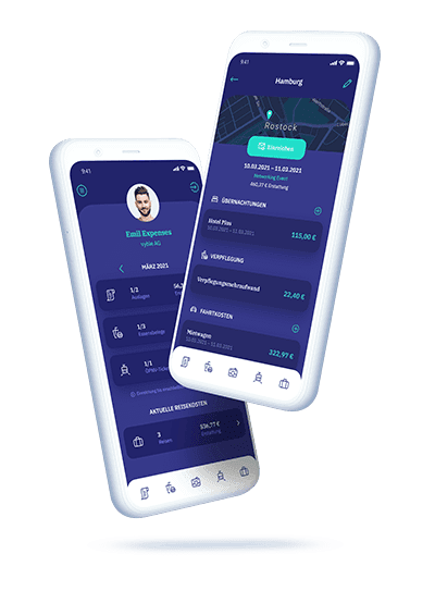 vyble® MyExpenses: App Mockup