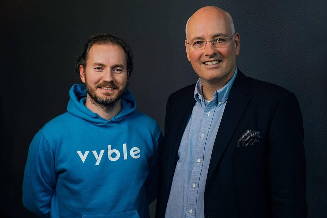 vyble® Vorstand: Rico Wiese und Alexander Tiedtke