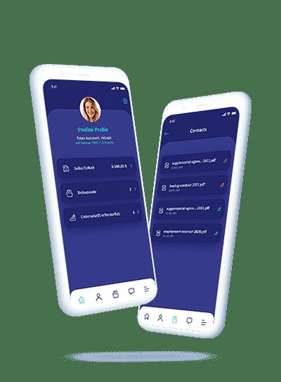 vyble® MyProFile: App Mockup