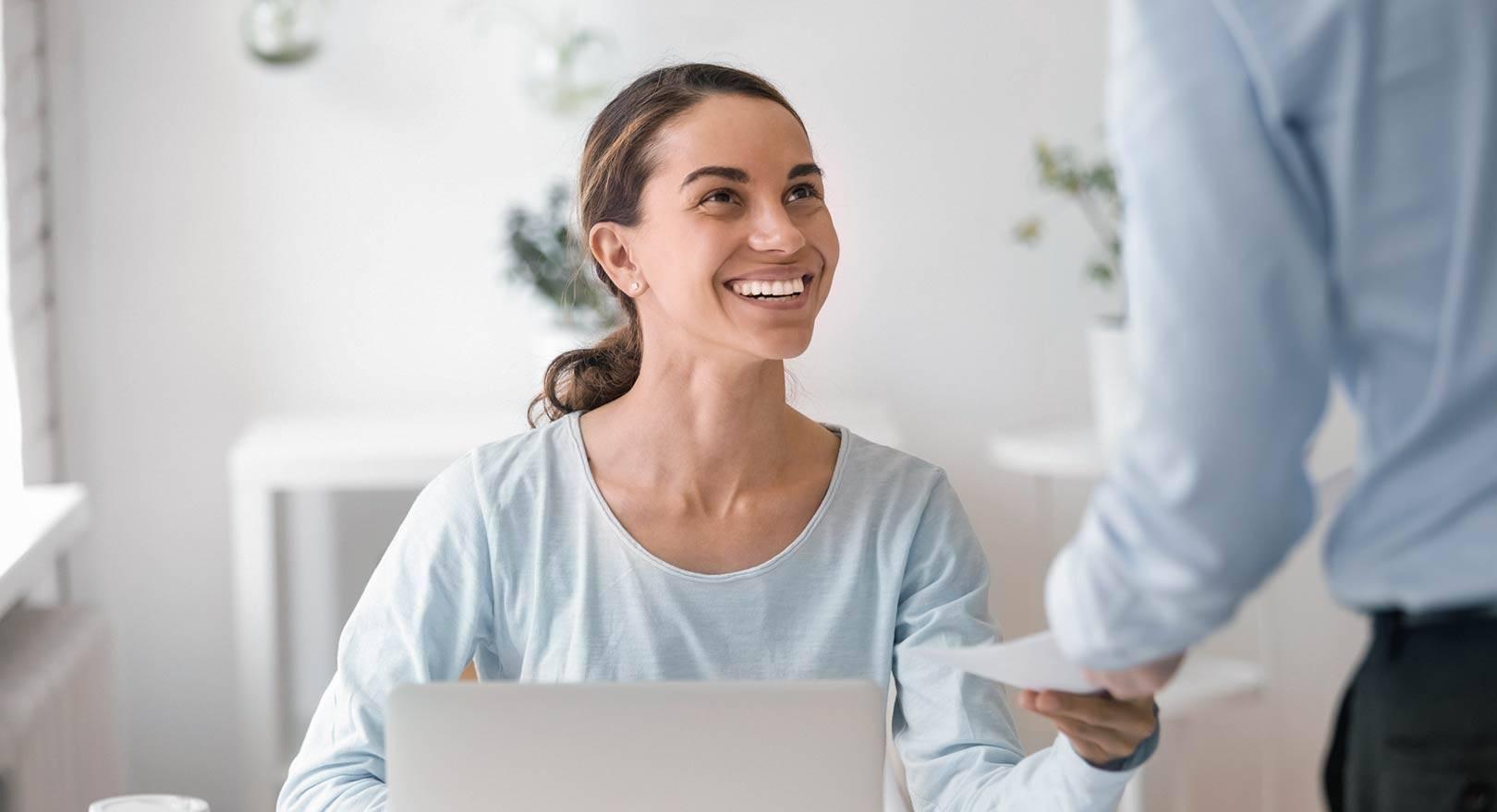 Geldwerter Vorteil: Mitarbeiterin erhält einen Zuschuss